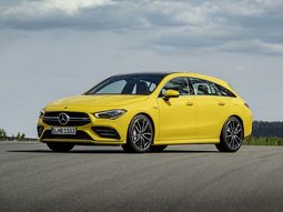 Mercedes-AMG CLA 35 Shooting Brake revealed in eye-catching yellow