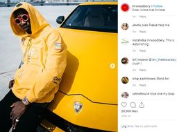 See luxury car collection of Mr. Woodberry - owner of G-Wagon Zlatan Ibile & Hushpuppi posed with!