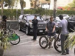 Thief trying to steal Arnold Schwarzenegger's N1.7m bike, almost tasered by his bodyguard