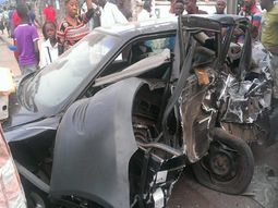 Trailer fleeing after causing 5 deaths in Abuja road crash, later caught by police