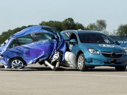 ZF demonstrates external car airbag system for side-impact accidents