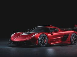 See mouth-watering photos of the new Koenigsegg Jesko Red Cherry Edition