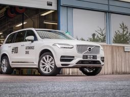 Volvo and Uber debut the XC90: The first self-driving car for ride-sharing
