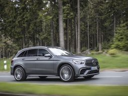 A first drive review of the revised 2020 Mercedes-AMG GLC 63 SUV