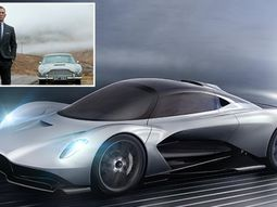 €1.5m Aston Martin Valhalla is new James Bond's car for coming soon 007 film