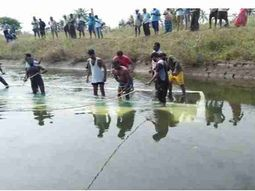 7 children missing, 22 adults rescued after vehicle plunged into canal in India