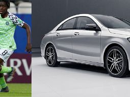 Super Falcon's Asisat Oshoala score big with ₦11m Mercedes Benz CLA 250