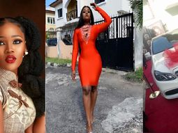 How much is the Mercedes-Benz Cee-C of BBNaija got as Royal Hair ambassador?