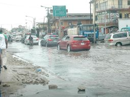 FRSC safety cautions to drivers in rainy season: obey speed limit & dim the headlights!