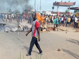 Benin-Ore road blocked by youths over woman allegedly killed by Fulani herdsmen