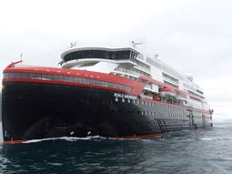 World's first Hybrid cruise ship heads for the Arctic on its maiden voyage