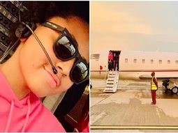 Mrs Ned Nwoko, aka Regina Daniel rules the skies with hubby's just bought jet!