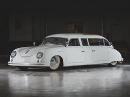 Fabulously-done Porsche 356 Limousine is set for auction in September