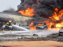 Vandals ignited fire, causing 2 dead & 30 cars burnt in Lagos pipeline explosion