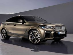 The November-released 2020 BMW X6 is featured on teaser videos!