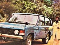 [Photos] Who did Fela Kuti lend a Range Rover to make Album Cover back then?