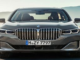 See photos of latest BMW 7 Series in Nigeria introduced by Coscharis Motors!