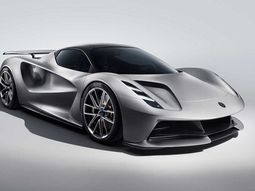 The first British electric car Lotus Evija targets the world's fastest production race car