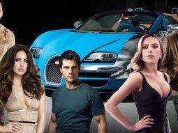 Driving Divas! Beautiful cars of 8 beautiful Hollywood female superstars