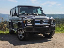 How it feels when riding in Otedola's Mercedes-Benz G550?