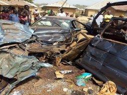 Auto crash in Jigawa between a Peugeot & Volkswagen Golf kills 7, injures 11