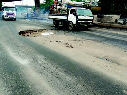 Lagos State Public Works Corporation sues for public understanding as pothole count hits 500 on roads in Ikeja alone