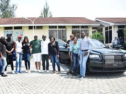 Luxury Rolls-Royce Black Badge launched sales in Nigeria by Coscharis Motors