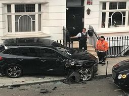 CCTV captures a ₦442m car crash when Audi smashed Porsche, Bentley and other supercars