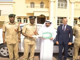 Dubai driver gifted new car for always obeying traffic laws