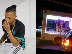 Singer Tekno & producer arrested for public strip show in Lekki traffic