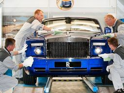 Luxury Rolls-Royce cars & how they are made
