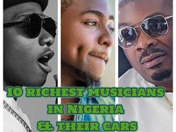 Top 10 richest musicians in Nigeria: cars, houses & net worths 2020