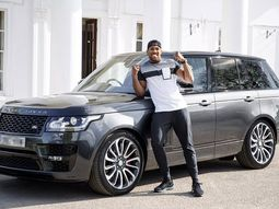 [Photos] Look back Anthony Joshua's ₦70m Range Rover which was stolen 11 months ago