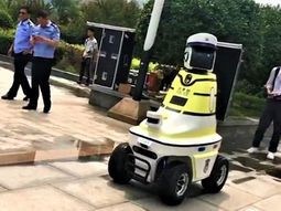 China is the first country to launch traffic control Robot officers