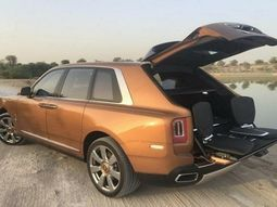 """Rolls-Royce Cullinan SUV introduces the """"Viewing Suite"""" for sightseeing lovers"""