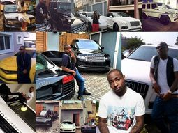 Top 10 Nigerian musicians owning the most luxury cars