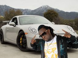 [Photos] Check out Timaya's luxury car collection