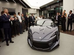 Japanese man bought the last five Fenyr SuperSport cars worth ₦2.6 billion