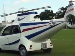 Indian man transforms his Tata Nano into a helicopter-like car