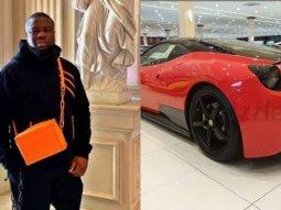 Nigerian Gucci master Ray Hushpuppi acquires a Limited Edition Ferrari 458 Italia