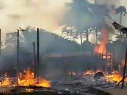 Black market petrol seller burnt beyond recognition in her home