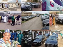 Alaafin of Oyo car collection
