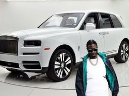 Mr. Woodbery celebrates ₦220m Rolls-Royce Cullinan 2019 in Dubai