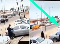 Daylight robbery in Lagos exposed by CCTV in 3 minutes clip