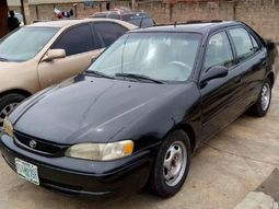 Toyota Corolla 2000 price in Nigeria - Conservative but powerfully built