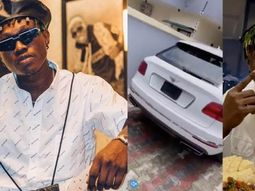 Check inside the ₦120m luxury Bentley Bentayga SUV newly acquired by Zlatan Ibile!