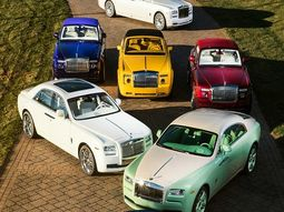 This Cuban-American has more Rolls-Royce Bespoke colors than a rainbow (including Orange & Blue Candy)