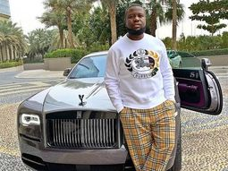 Ray Hushpuppi flaunts his luxury supercars (Video of car interiors included)