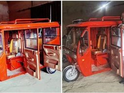 Naija-made luxury Keke fitted with camera is priced only ₦900k