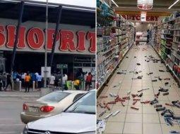 Xenophobia retaliation: Police van set on fire, cars smashed, Jakande traffic blocked